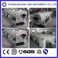 Quality Drainage Pvc Plastic Pipe / Tube Extrusion Line  Electrical Control System for sale