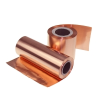 China 0.42mm Thickness Shielding ED Pure Copper Sheet Roll on sale