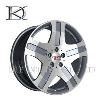 Wholesale Benz Mercedes Replica Reproduction Wheels Alloy Rims 5 Holes Black Machine / Sliver lip from china suppliers