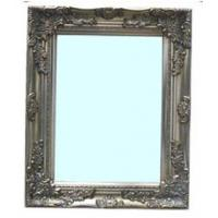 Wholesale antique silver wood framed wall mirror from china suppliers