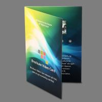 Wholesale 5 Inch Lcd Video In Print Brochure Personalized Video Greeting Cards from china suppliers