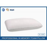 Antimicrobial Ventilated Traditional Memory Foam Pillow , Medium Density