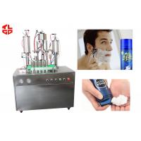 Wholesale Pneumatic Auto Aerosol Spray Filling Machine for Shaving Gel / Shaving Foam from china suppliers