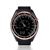 Buy cheap Leather Band Smart Wrist Watches , Gps Tracker Watch With Alarm Remote Monitoring Function from wholesalers