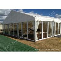 Wholesale Tailor Made Transparent Glass Wall Outdoor Luxury Wedding Tents With Gorgeous Ornaments from china suppliers
