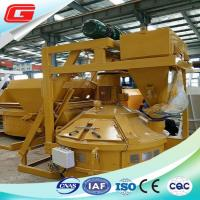 Wholesale 3900 kg Pan Type Concrete Mixer / Cement Mixer With 750L Output Capacity from china suppliers