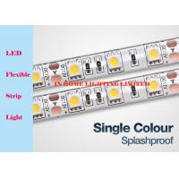 Wholesale IP20 12V / 24V Flexible RGB LED Strip Lights Single Color For Indoor Decoration from china suppliers