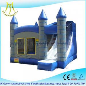 Wholesale Hansel Bouncy Castle ,Inflatable Frozen Castle ,Forzen Inflatable Bouncer For Kid from china suppliers