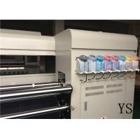 Quality 4 Epson Dx5 Cotton Printing Machine / Roll Digital Cloth Printing Machine for sale