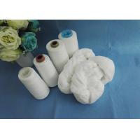 Quality 100% Polyester Spun Yarn 52/3 50/3 Virgin Semi - Dull Or Bright Fiber On Hank Polyester Yarn for sale