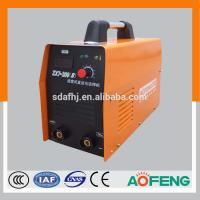 Quality Iron plate design new inverter DC MMA IGBT welding machine--100A/120A/140A/160A/180A/200A small current and portable for sale