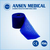 Quality Colorful 3inch 4yards Waterproof Medical Tape Sterilization Wrap Orthopedic Cast Bandage for sale