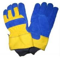 "Wholesale 11"" AB grade Thinsulate Lining Cow Grain Leather Winter Work Gloves for Agriculture work from china suppliers"