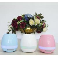 Quality 2017 Trending Product For Christmas Gift Music Flower Pots Wholesale With LED Light And Bluetooth for sale