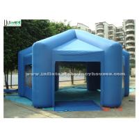 Wholesale Outdoor Hexagon Air Inflatable Tents for Temporary Warehouse from china suppliers