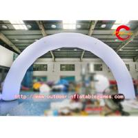 Wholesale Promotional Inflatable Arch Lighting Inflatable Entrance Arch With Quadruple Stitches from china suppliers