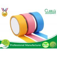 Wholesale Rubber Adhesive Colored Masking Tape Low Tack Painters Tape For Spray Paint from china suppliers