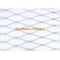 Wholesale Ferruled Stainless Steel Rope Mesh-Flexible Architectural Mesh from china suppliers