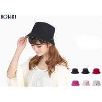 Wholesale Popular Custom Caps Hats Embroidered , Black Fisherman Hat For Women from china suppliers