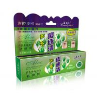 Wholesale Aloe Crystal Whitening Acne Removal Cream / Exfoliating Cream For Face 25g from china suppliers