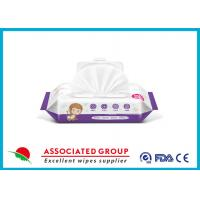 Wholesale Naturally Slightly Acidic Biodegradable Wet Wipes For Babies Use , Xylitol Added from china suppliers