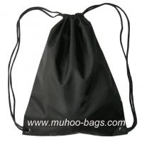 Wholesale Fashion String bag, Backpack,Promotion bag MH-2121 black from china suppliers