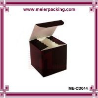 Buy cheap Dark brown paper cube box/Cosmetic makeup packaging paper box ME-CD044 from wholesalers