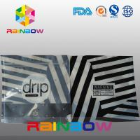 Wholesale Zebra Stripes Stand Up Noni Drip Bag , Stylish Composite Mylar Pouch from china suppliers