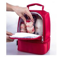 Wholesale Red Childrens Lunch Bags /  Insulated Lunch Bags For Kids Doube Layers from china suppliers