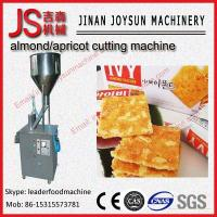 Wholesale 3.5kw Nuts / Badam Strips Cutting&Grading Mincing  Machine from china suppliers