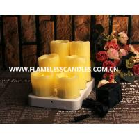 Wholesale Dripping Wax Wireless Rechargeable Flameless LED Candles from china suppliers