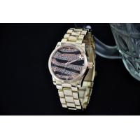 Wholesale Diamond Zebra Strip Metal Wrist Watch , Fashion Men Wrist Watches from china suppliers