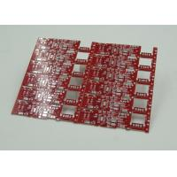 Wholesale Double Sided PCB Board Fabrication Red Solder Mask PCB PD Free HASL Finish from china suppliers