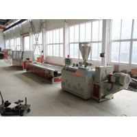 Wholesale PVC Profile Production Line WPC Extrusion Machinery For Door Frame / Wall Panel from china suppliers