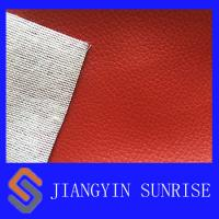 Wholesale Softness Polyester Faux Leather Fabric Synthetic PU Leather for Shoes from china suppliers