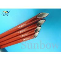 Wholesale 7 KV Heat Resistant Silicone Fiberglass Sleeving Electrical Eco - Friendly from china suppliers