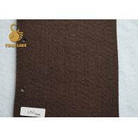 Wholesale 120gsm Grey Needle Punched Felt With 80gsm White Flower Non-slip PVC Dot from china suppliers