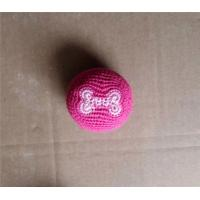 Wholesale Thread Knitted Kick Ball Custom Footbag with Logo from china suppliers