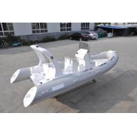 Wholesale High Capacity Rib Rigid Inflatable Boat Lightweight 19 Feet With 180 Cm Hull Width from china suppliers