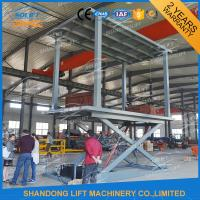 Wholesale Hydraulic Double Deck Car Parking System Double Platform Scissor Auto Lift from china suppliers