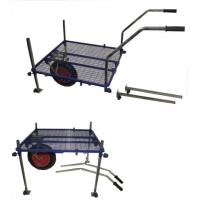 Wholesale Stable Fishing Tackle Trolley with Mesh Platform, Removable Legs from china suppliers