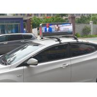 Wholesale Dual Sides Programmable Taxi Led Display , IP65 Level Rgb Taxi Led Screen from china suppliers