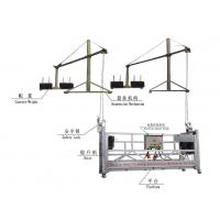 Wholesale OEM Safety Electrical Aluminum Rope Suspended Platform, Window Cleaning Platforms from china suppliers
