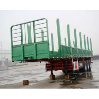 Wholesale 3 Axle Wood Transport Logger / Logging Trailer Truck , timber trailer from china suppliers