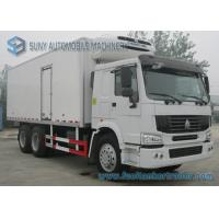 Wholesale 30 T Refrigerated Box Truck CNHTC Sinotruk HOWO 6x4 Heavy 336 HP from china suppliers