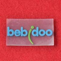 Wholesale Transparent Rubber Label, Used for Garments, Luggage, Gifts and More, OEM Orders Welcomed from china suppliers
