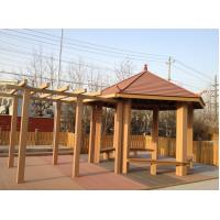 Wholesale Ourdoor WPC Construction , Sunsheds WPC Pergola For Rest And Decoration from china suppliers