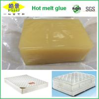 Wholesale Yellow Non - Transparent Hot Melt Adhesive Block High Stickiness For Mattress from china suppliers