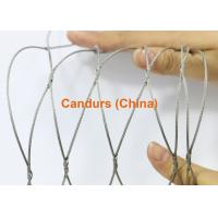 Wholesale Stainless Steel Knotted Rope Mesh-Flexible Hand Woven Rope Mesh from china suppliers