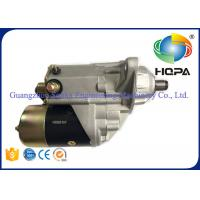 Wholesale Metal Materials Excavator Starter Motor For Komatsu 6D102 , ISO9001 Approved from china suppliers